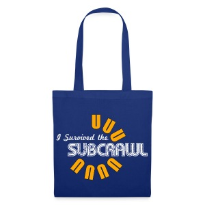 I Survived the Subcrawl - Tote Bag