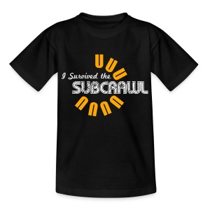 I Survived the Subcrawl - Teenage T-shirt