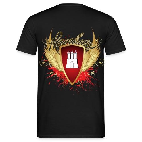 HAMBURG Wappen - Männer T-Shirt