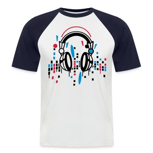 Kurzärmeliges Männer Baseballshirt - Männer Baseball-T-Shirt