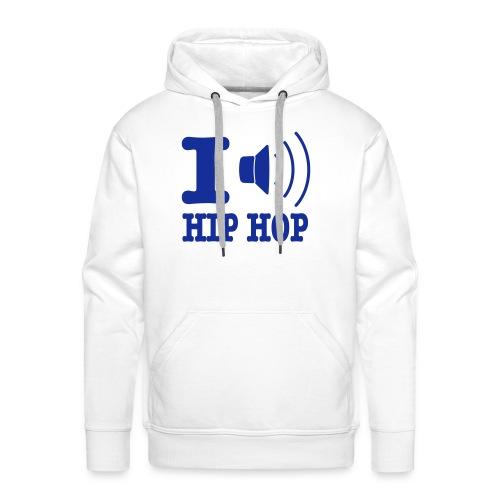 Ich höre HipHop  - Männer Premium Hoodie