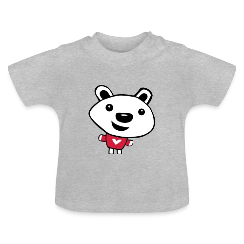 Happy Polar Bear - Baby T-Shirt