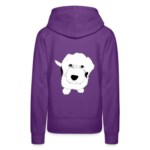 Hundeblick - Bobtail - Frauen Premium Hoodie