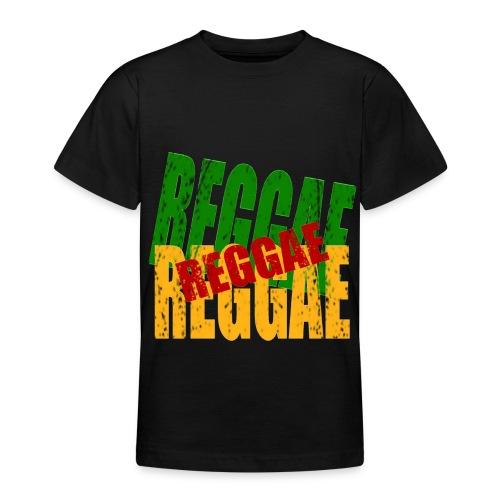 T shirt enfant reggae - T-shirt Ado