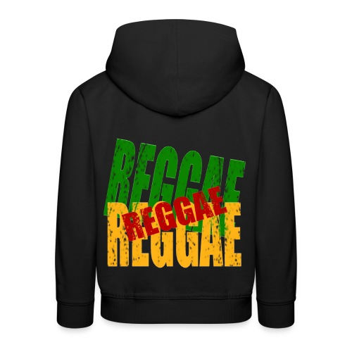 Pull à capuche enfant reggae - Pull à capuche Premium Enfant