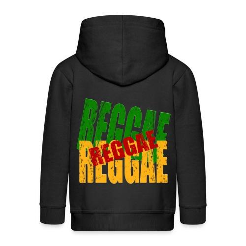 Veste à capuche enfant reggae - Veste à capuche Premium Enfant