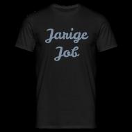 T-shirts ~ Mannen T-shirt ~ Jarige Job - Zilver-metallic