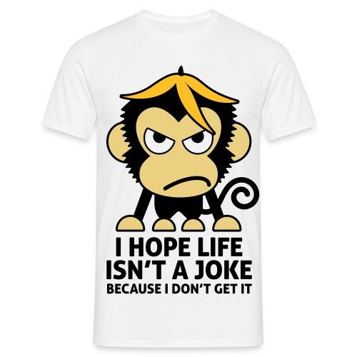 den sjove - Herre-T-shirt