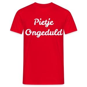 Pietje Ongeduld - Mannen T-shirt
