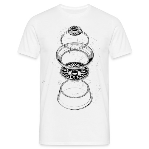 BBS RS BOOM · by LOWISH - Männer T-Shirt