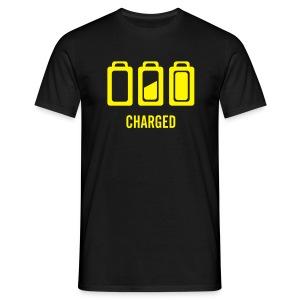 single on tour t shirt. Font and back print - Men's T-Shirt