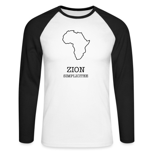 ZION - Men's Long Sleeve Baseball T-Shirt