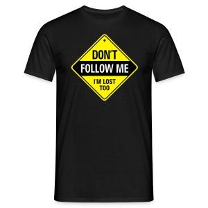 FOLLOW - Mannen T-shirt