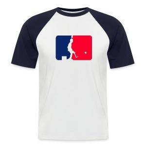 Major League Tipp-Kick (undershirt) - Männer Baseball-T-Shirt