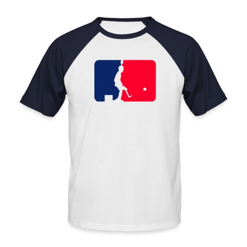 Major League Tipp-Kick (undershirt) - Männer Baseball-T-Shirt