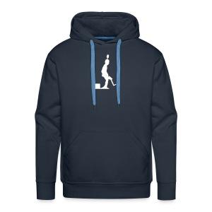Pro Kicker Hoodie (blau) - Männer Premium Hoodie