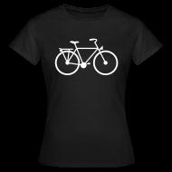 T-shirts ~ Vrouwen T-shirt ~ Fiets