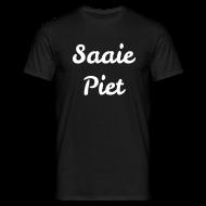 T-shirts ~ Mannen T-shirt ~ Saaie Piet