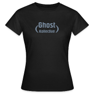 T-Shirts ~ Women's T-Shirt ~ Simple womens t' with silver flex logo