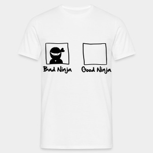 Good Ninja / Bad Ninja - Männer T-Shirt