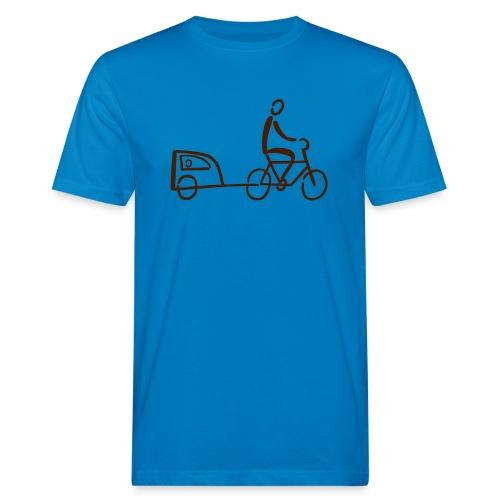 Fahrradanhänger Shirt - Männer Bio-T-Shirt