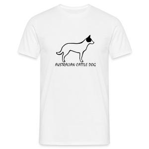 Australian Cattle Dog - Männer T-Shirt