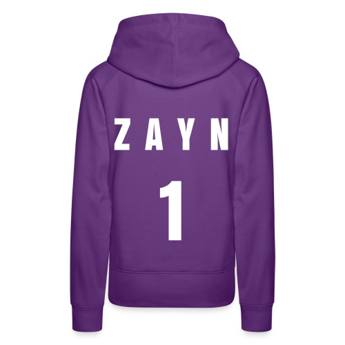 One Direction Football Tee Style Hoody 'Zayn' - Women's Premium Hoodie