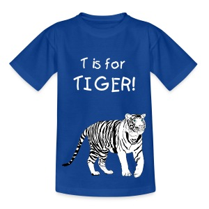 Kids Tiger Shirt - Teenage T-shirt