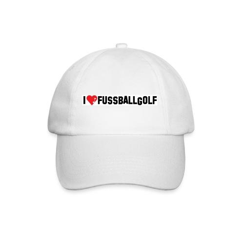 I love Fußballgolf - Cap - Baseballkappe