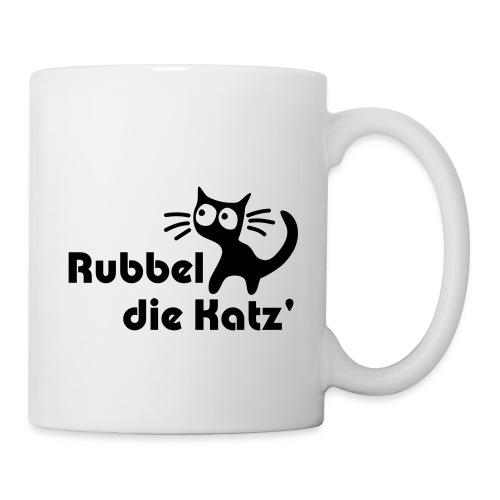 Rubbel die Katz' - Tasse