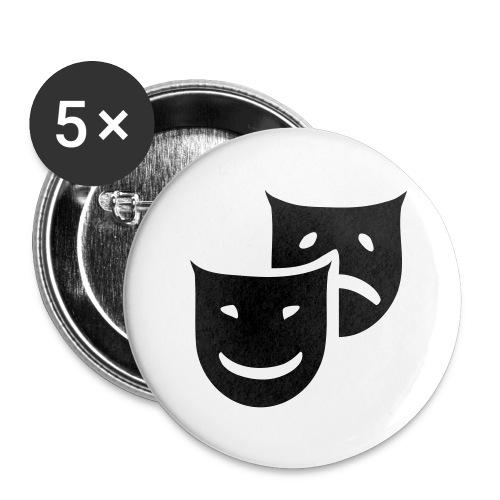 Badge 25 mm théâtre - Badge petit 25 mm