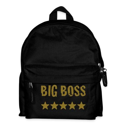 Kinder Rucksack + Big boss aufschrift - Kinder Rucksack