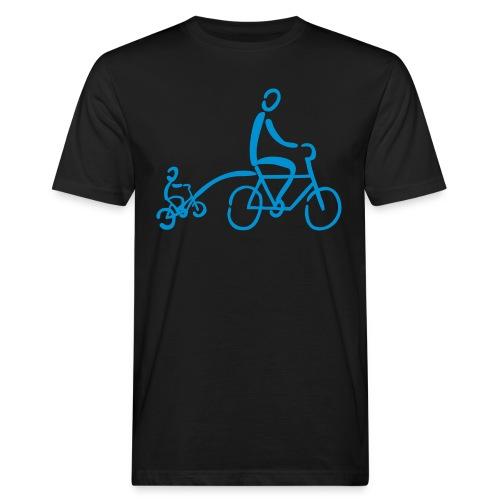 Fahrradtrailer Shirt - Männer Bio-T-Shirt