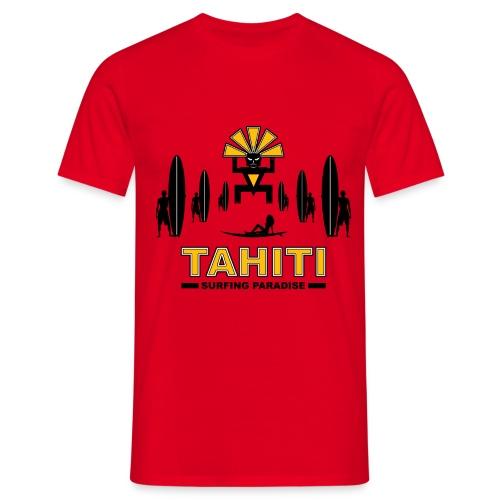 tahiti surfing tee shirt - Men's T-Shirt