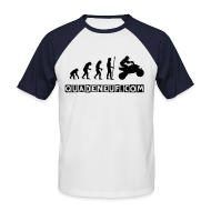 Tee shirts ~ Tee shirt baseball manches courtes Homme ~ T-Shirt Pour Homme