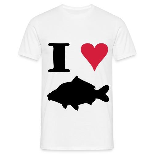 I Love Carpfishing ! - T-shirt Homme