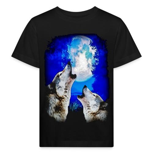 T shirt enfant loups - T-shirt bio Enfant