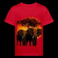 Tee shirts ~ Tee shirt Bio Enfant ~ T shirt enfant éléphants
