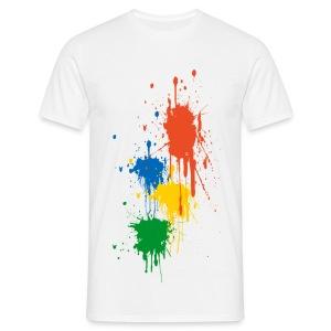 paint ball - T-shirt Homme
