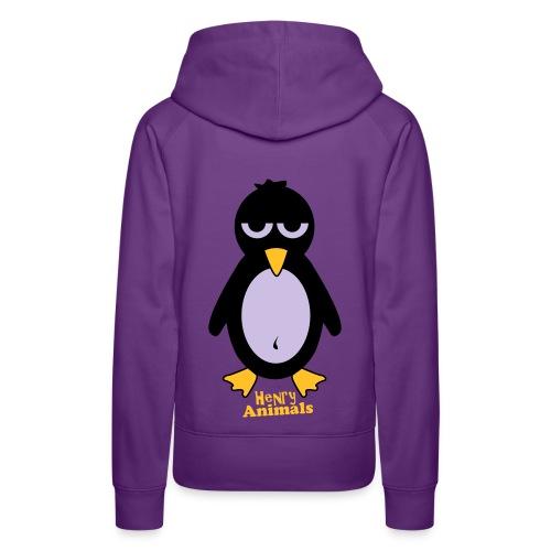 Pinguin Kaputepullover - Frauen Premium Hoodie