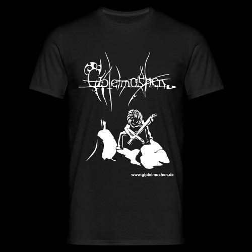Black Metal Gipfelmosher - Männer T-Shirt