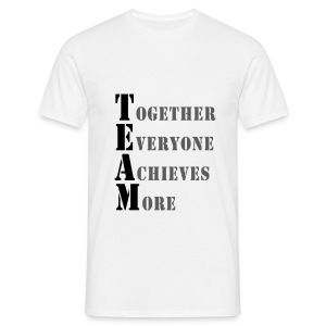 TOGETHER EVERYONE ACHIEVES MORE - Men's T-Shirt