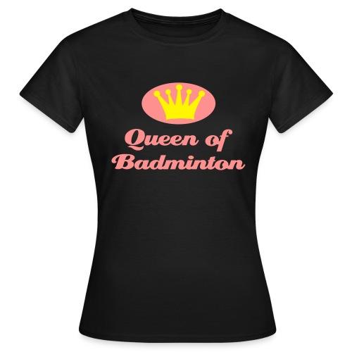 Badminton shirt - Vrouwen T-shirt