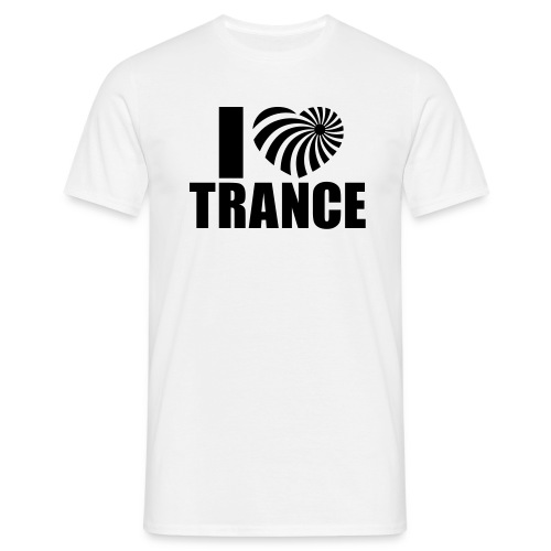 Love TRANCE - Men's T-Shirt