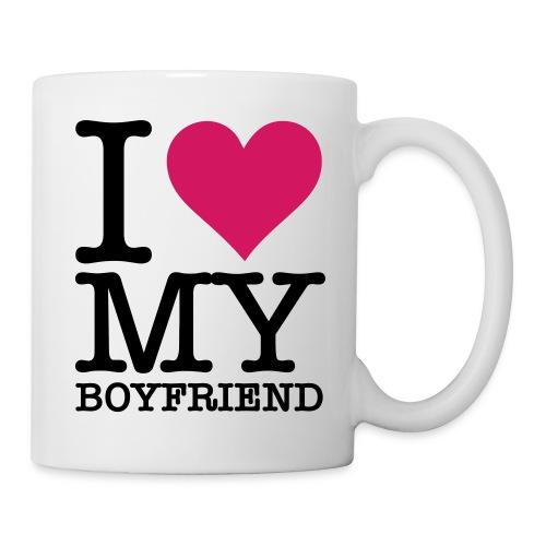 I love my Boyfriend - Mug blanc
