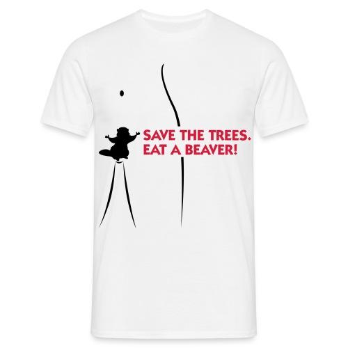 Save the trees - T-skjorte for menn