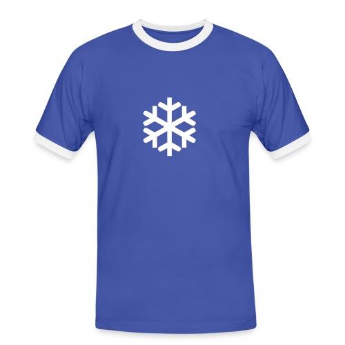 6 tzut sf s - Männer Kontrast-T-Shirt