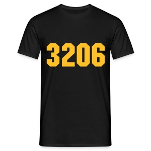 3206 AK Yellow/Black - Mannen T-shirt
