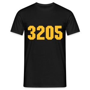3205 WLC Black/Yellow - Mannen T-shirt