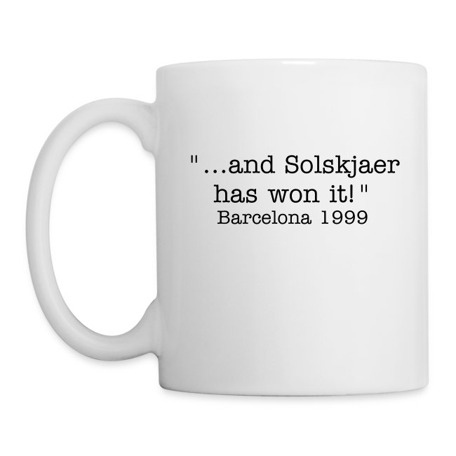 Man United - Nou Camp Mug